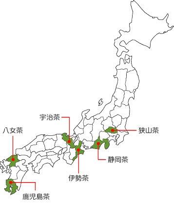 一 日本 量 は 生産 の お茶